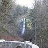 Latourell Falls from the parking lot vieing area
