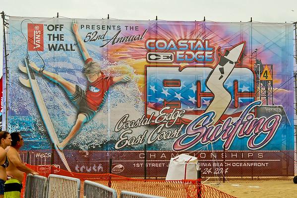 2014 East Coast Surfing Championships  Virginia Beach, Virginia 8/23/14