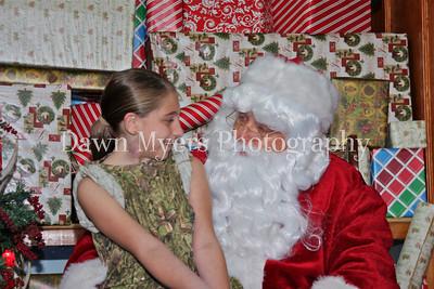 Santa at Congo's