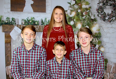 Hunter, Jace, Alaina & Caden