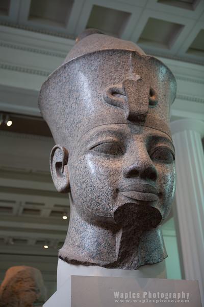 Granite head of Amenhotep III