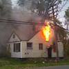 Detroit 1st due dwelling fire