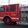 Detroit Engine 44 Ladder 18 responding