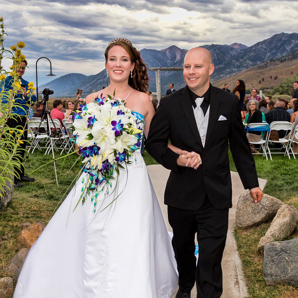 Dionne and Will's David Walley's Hotsprings Wedding Photos, by Wedding Shots Wedding Photography, Reno, NV.