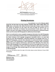 Burns Print Release