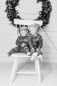 00001-©ADHPhotography2019--Esch--ChristmasMini--November1--bw