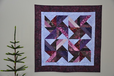 Purple Tradewinds Wallhanging