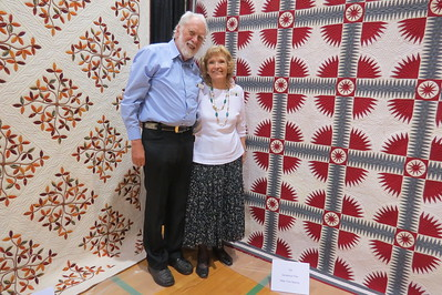 at the PIney Woods quilt guild show