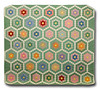 Green hex piece quilt-Edit