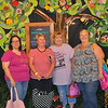 Fellow retreaters.. Donna Marie, Sandy and Donna Lynn and me