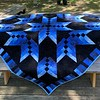 BlueBlackStarOn Picnic Table