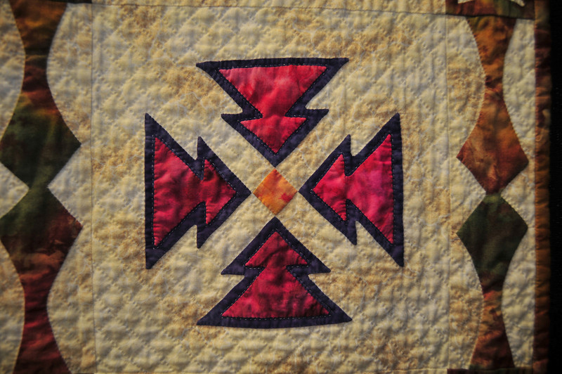 Quilted Crosses<br /> by Pat Peters