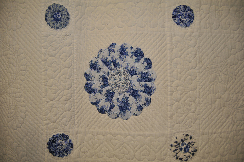 Grandma's Plate in the Garden<br /> by Cindy Wright and the Thursday Quilters