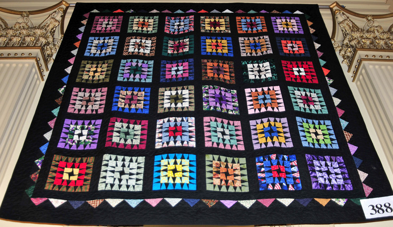 Granny Square Memory Quilt, Joyce Von Vett