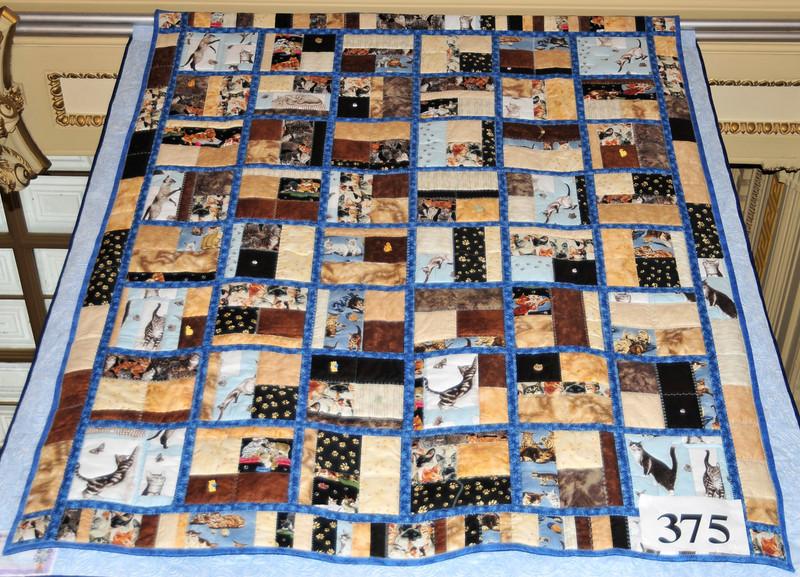 Comfort Cat Quilt, Mary Lou Spurgeon