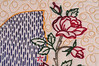 Detail on Mary Jafek's quilt