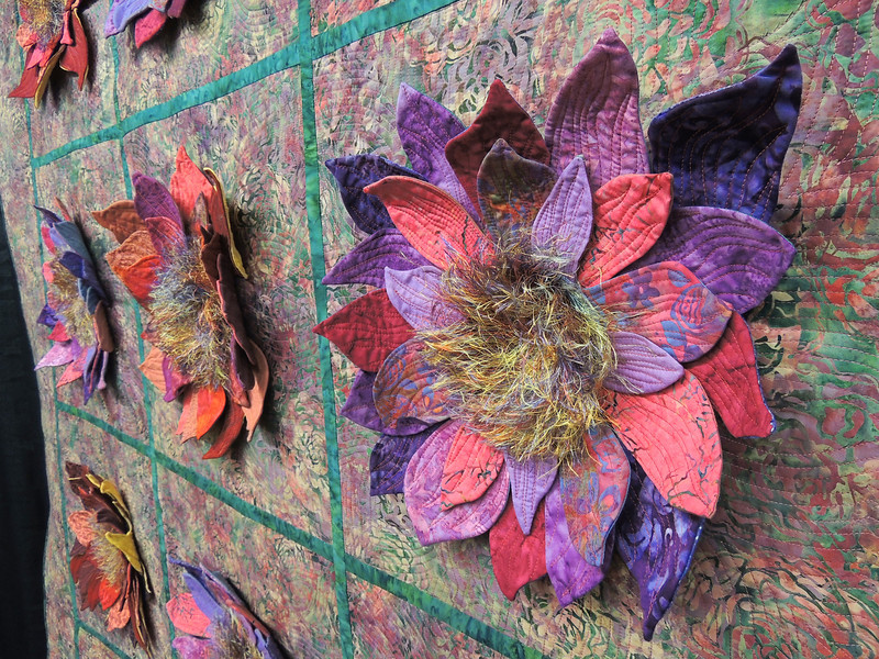 Detail of My Flower Bed by Jeanne A. Hurt