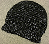 Snowflake Shimmer Solid Beanie