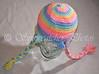 Lollipop Snowflake Hat
