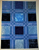Blue Batik Blocks