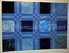 Blue Batik Blocks
