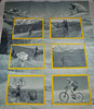 """Black and White sort of """"Livestrong"""" quilt top"""