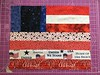 Flags for Sue, Alycia's Quilt of Valor Project