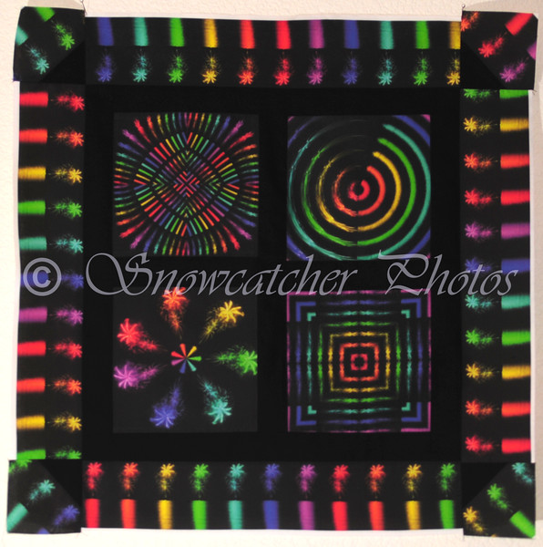 Lake Dillon Fireworks<br /> July Special Effects Quilt