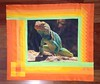Collared Lizard Wall Quilt