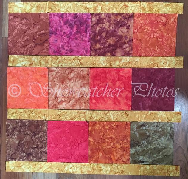 amber sashing