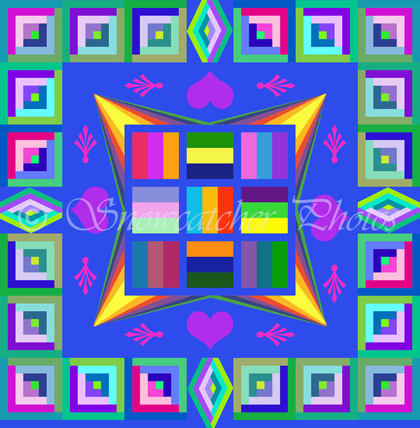 Learning to Quilt in Photoshop