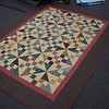 This quilt is similar to the 6x8 layout but with 5x7 which should give it a bit more movement. I don't see it.