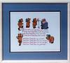 1987/08 Teddy Bear Crosstitch
