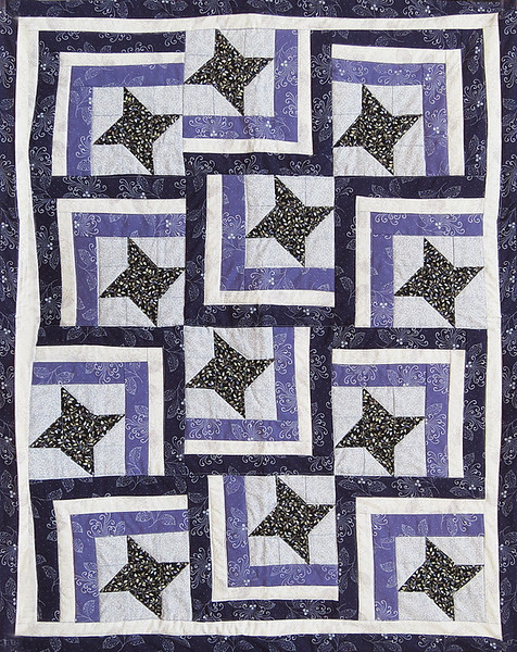 2017 01 Stars on parade wheelchair quilt