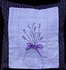 2012/05 Lavender sprigs pillow