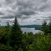 View of Big Averill Lake from top of Averill Mountain