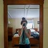Cabin selfie time