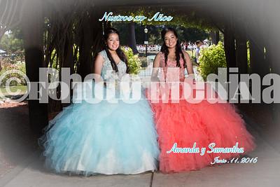Amanda & Samantha