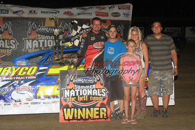 Shirley Goes Back-to-Back for Quincy Raceways Summer Nationals Victory
