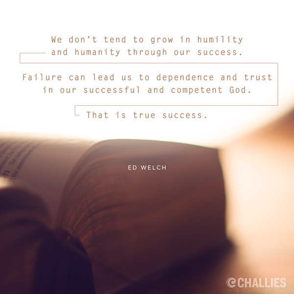 Ed Welch on Humility