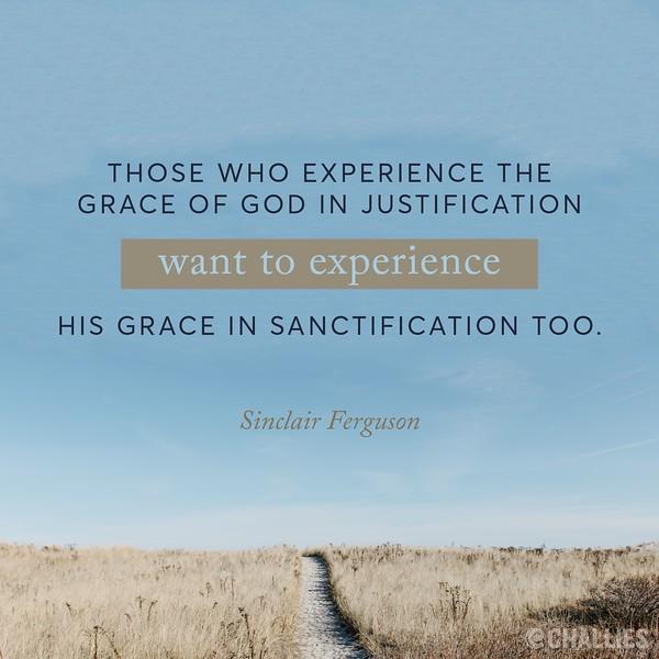 Sinclair Ferguson on Sanctification