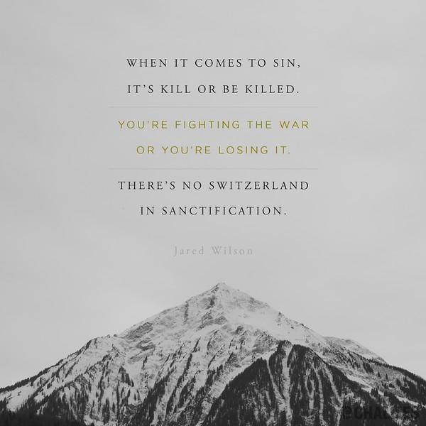 Jared Wilson on Sin