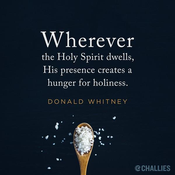 Donald Whitney on the Holy Spirit