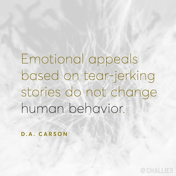 D.A. Carson on Emotions