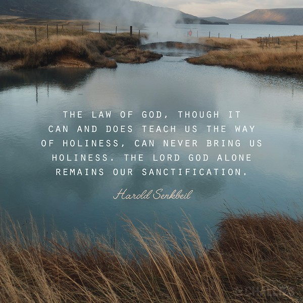 Harold Senkbeil on Sanctification