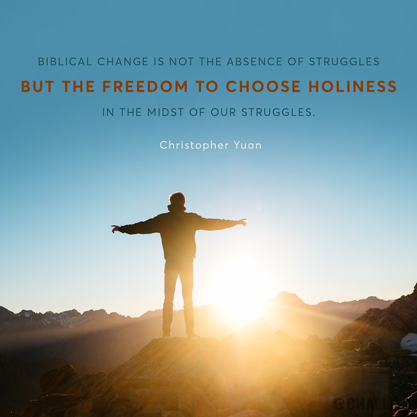 Christopher Yuan on Holiness