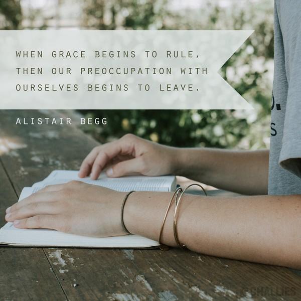 Alistair Begg on Grace