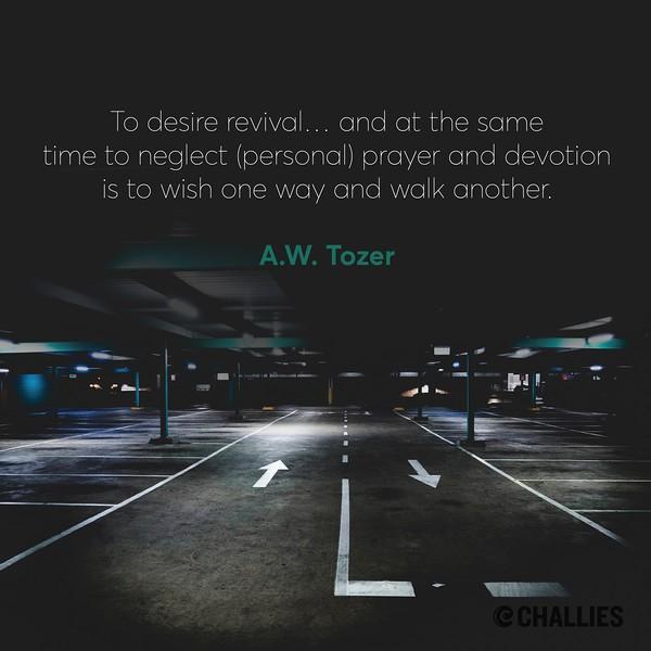 A.W. Tozer on Spirituality