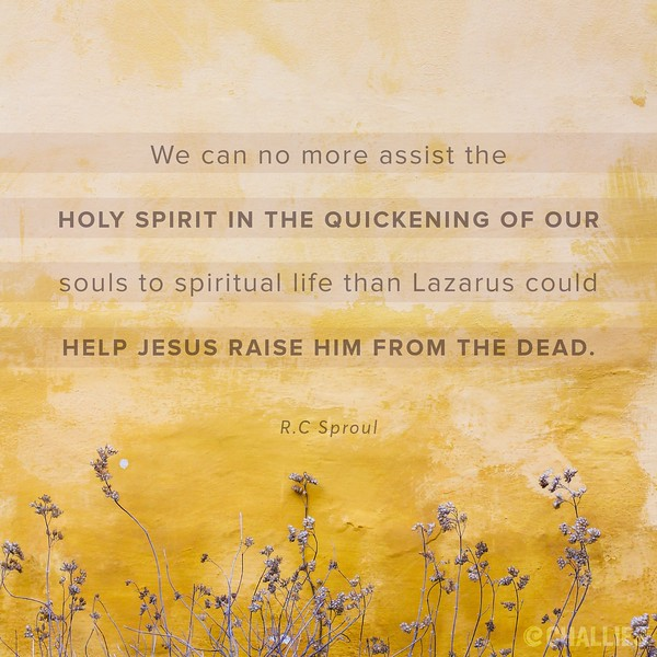 R.C. Sproul on the Holy Spirit