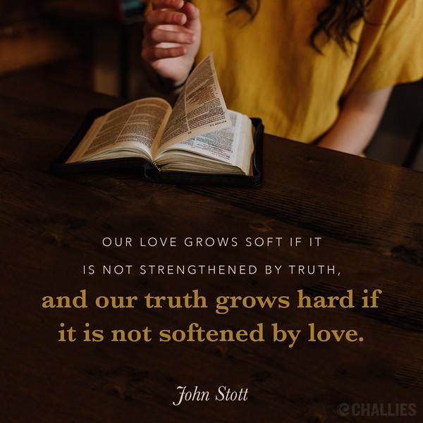John Stott on Love